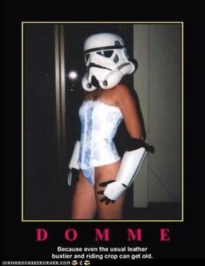 The dark side looks more fun.
