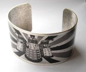 Dalek Cuff Bracelet