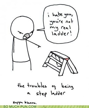 Feels for a step-ladder...