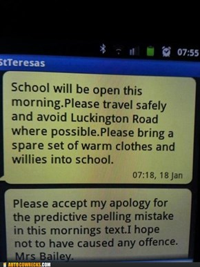 Predictive Text FAIL