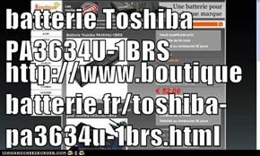 batterie Toshiba PA3634U-1BRS  http://www.boutiquebatterie.fr/toshiba-pa3634u-1brs.html