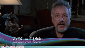 Dat Statue... You won the World Mr. De Lancie