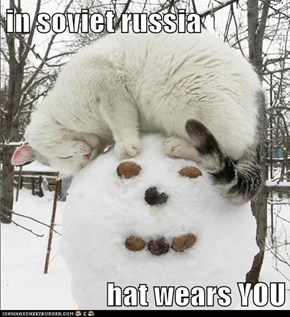 in soviet russia  hat wears YOU
