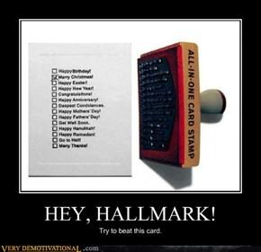 HEY, HALLMARK!