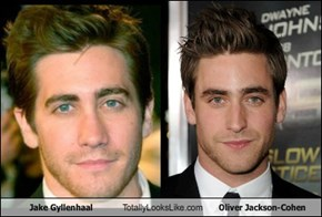 Jake Gyllenhaal Totally Looks Like Oliver Jackson-Cohen