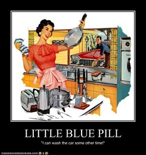 LITTLE BLUE PILL