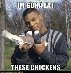 IM GONA EAT  THESE CHICKENS