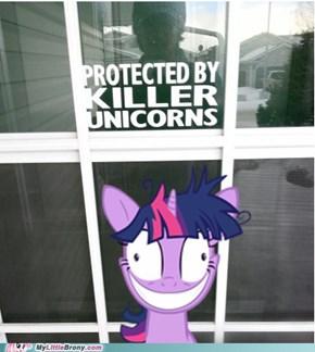Beware of pony