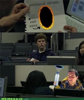 Pee Portal