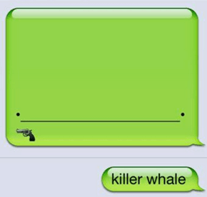 Whale Doesn't Take Nonsense From Anyway