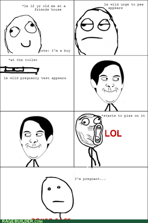 Pregnancy test...