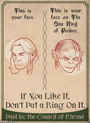 Don't Do Rings, Kids