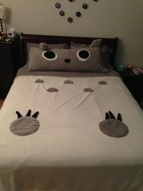 DIY Totoro Bedding