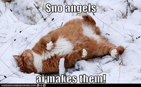 Sno angels  ai makes them!