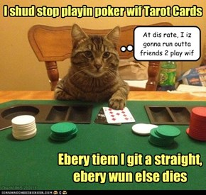Poker nite at Kittehz house