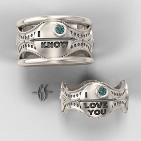 Star Wars Wedding Bands
