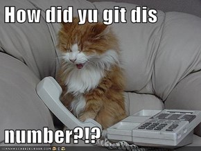 How did yu git dis   number?!?