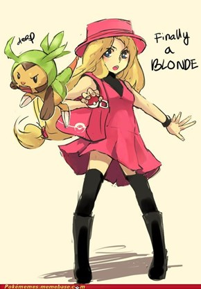 Finally A Blonde