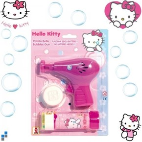 Crisis Averted of the Day: Kindergartener Expelled for Hello Kitty Bubble Gun