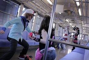 Battle Subway Cosplay