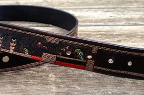 Super Mario Final Level Belt