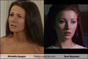 Michelle Keegan Totally Looks Like Jane Seymour