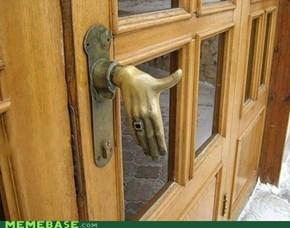 Man, Door Hand, Where is Your Hook Car Door?