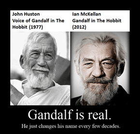 GANDALF IS REAL