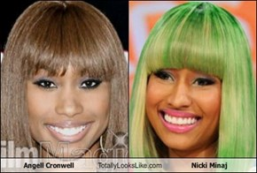 Angell Cronwell Totally Looks Like Nicki Minaj