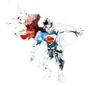 Man of Steel and Ink