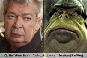 """Old Man"" (Pawn Stars) Totally Looks Like Boss Nass (Star Wars)"