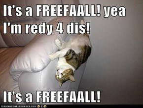It's a FREEFAALL! yea I'm redy 4 dis!  It's a FREEFAALL!