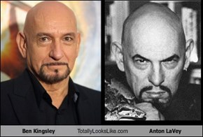 Ben Kingsley Totally Looks Like Anton LaVey