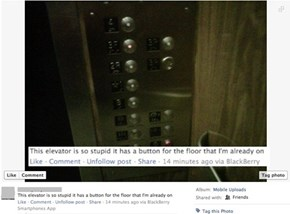 Pot Calling the Elevator Black