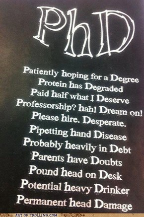 What PHD Stands For