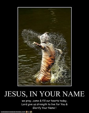 JESUS, IN YOUR NAME