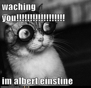 waching you!!!!!!!!!!!!!!!!!!  im albert einstine