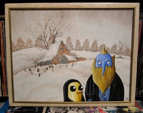 Adventure Time Gothic