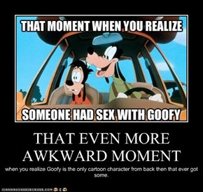 THAT EVEN MORE AWKWARD MOMENT