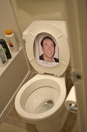 Just When You Thought it was Safe to Make a Toilet...