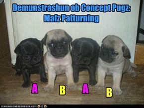 Demunstrashun ob Concept Pugz:    Mafz Patturning