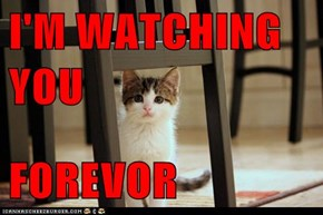 I'M WATCHING YOU  FOREVOR
