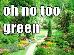 oh no too green
