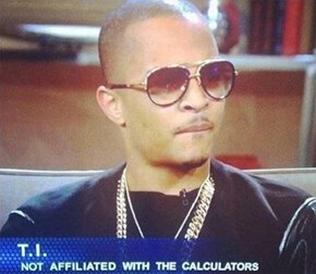 T.I. Denies Ties to Texas Instruments