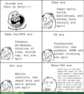 Evolution of gamers.