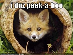 i duz peek-a-boo