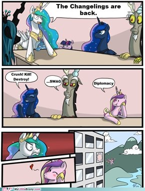 The changelings are coming!