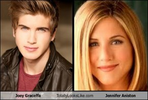 Joey Graceffa Totally Looks Like Jennifer Aniston