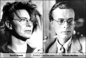 David Bowie Totally Looks Like Aldous Huxley