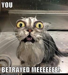 YOU  BETRAYED MEEEEEEE!